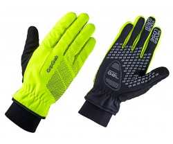 Handskar GripGrab Ride Windproof Winter hi-vis gul