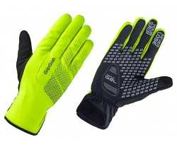Handskar GripGrab Ride Waterproof Winter hi-vis gul