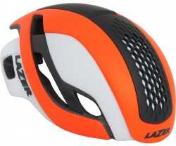 Hjälm Lazer Bullet matt orange/vit