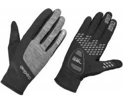 Handskar GripGrab Hurricane Windproof Winter dam svart/grå