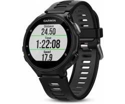 Sportsur Garmin Forerunner 735XT Triathlon Bundle sort/grå