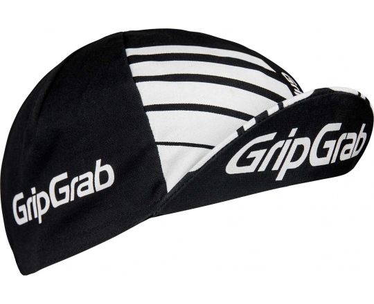 Sykkelcaps GripGrab Classic svart one-size