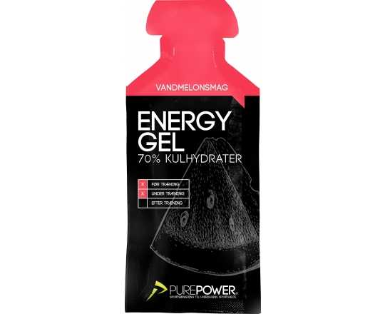 Energigel PurePower Energy Gel 40 g vattenmelon