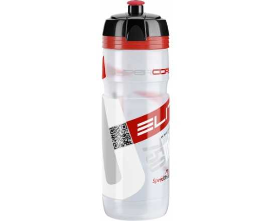 Flaska Elite Supercorsa 750 ml klar/röd