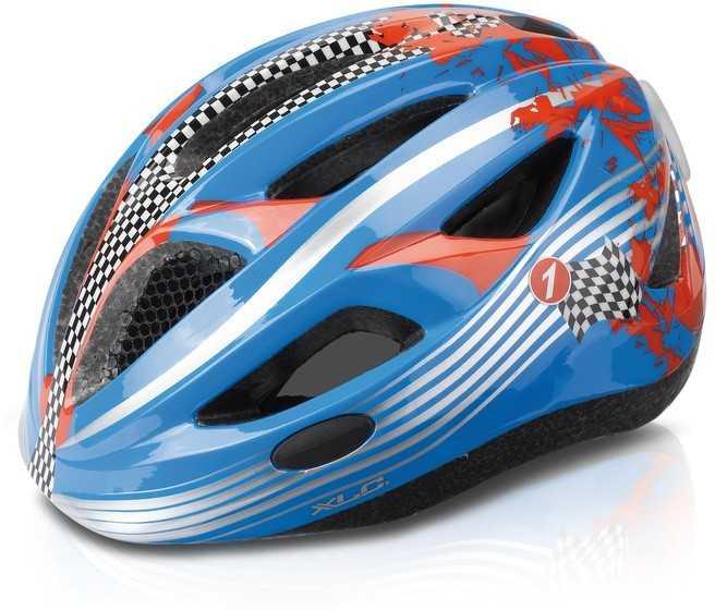 Hjälm XLC BH-C17 Racer Junior blå/röd | Helmets