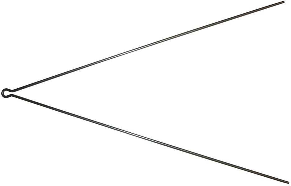 SKÆRMSTAG SKS V-FORM FOR CHROMOPLASTIC SKÆRME 3.4 MM 380 MM 1 ST | Mudguards