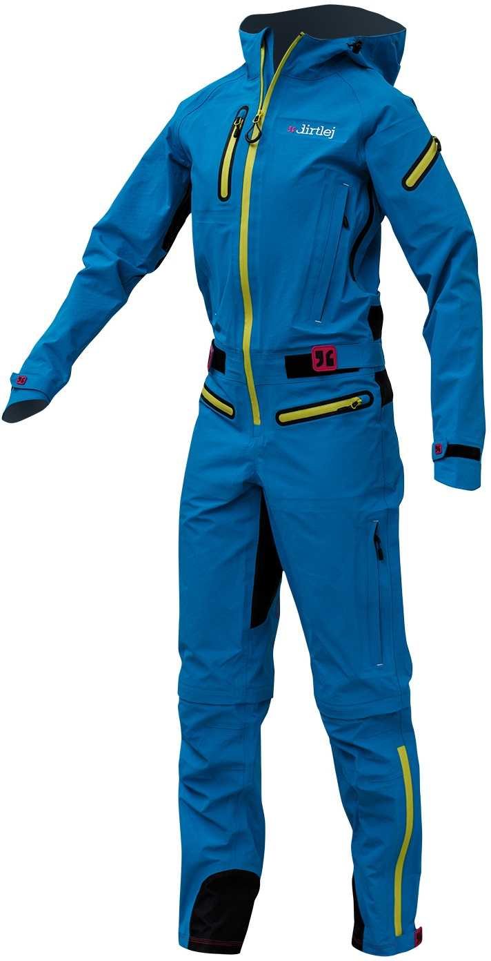 Overall Dirtlej Dirtsuit Core dam blå | Jackets
