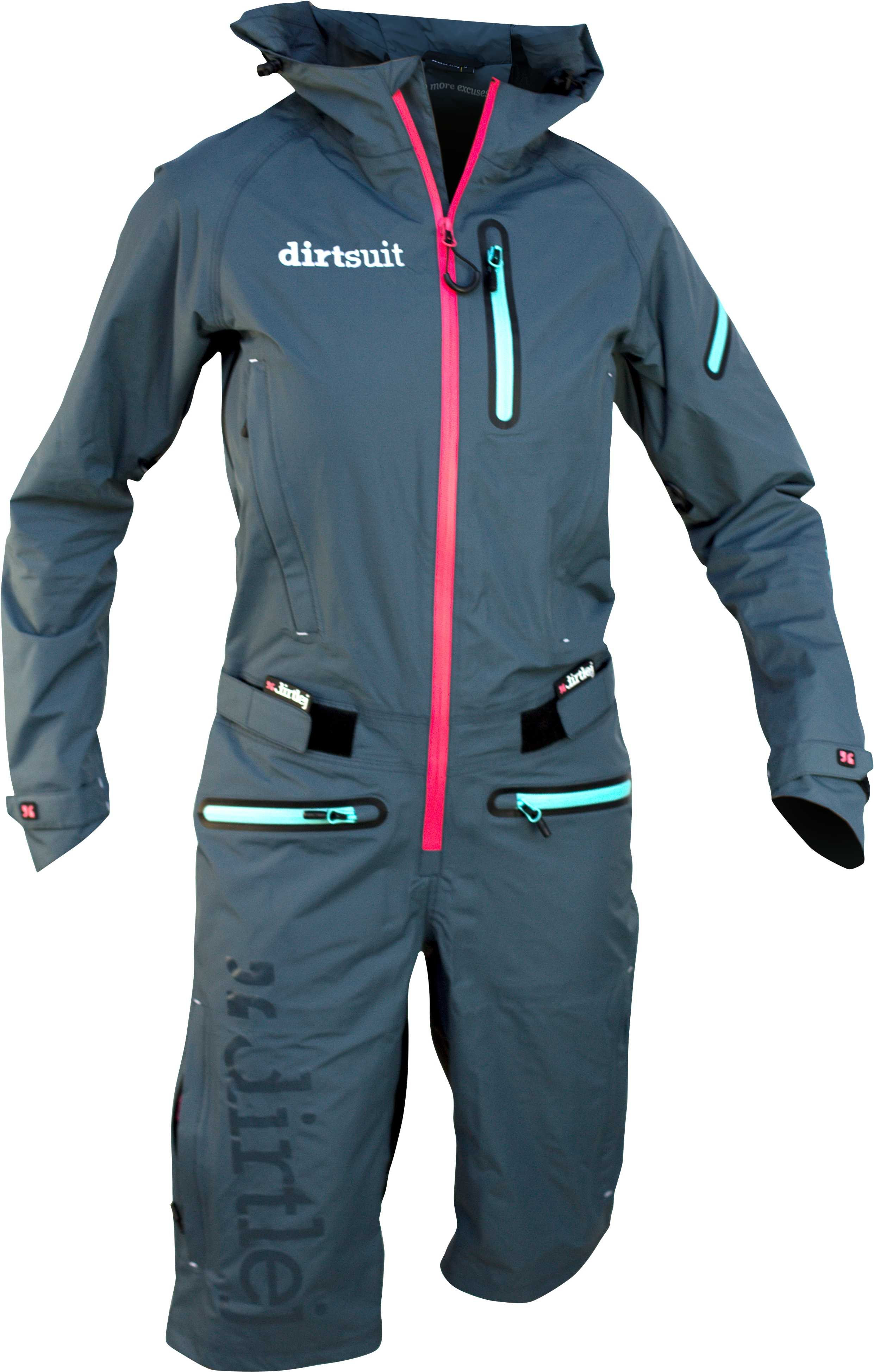 Overall Dirtlej Dirtsuit Pro dam blå | Jackets