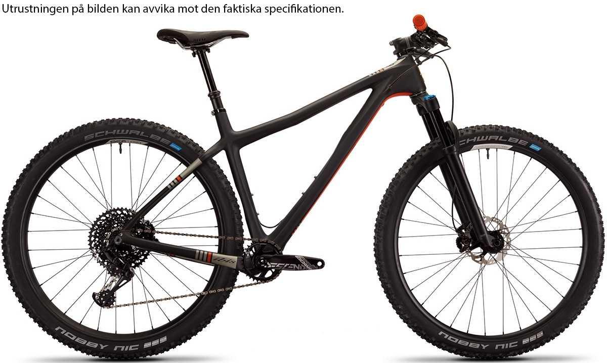 Ibis DV9 GX Eagle i9 Carbon CK Edition black/orange x-large