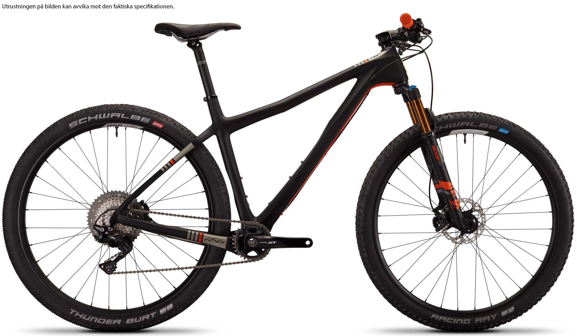 Ibis DV9 XT i9 Carbon CK Edition black/orange medium