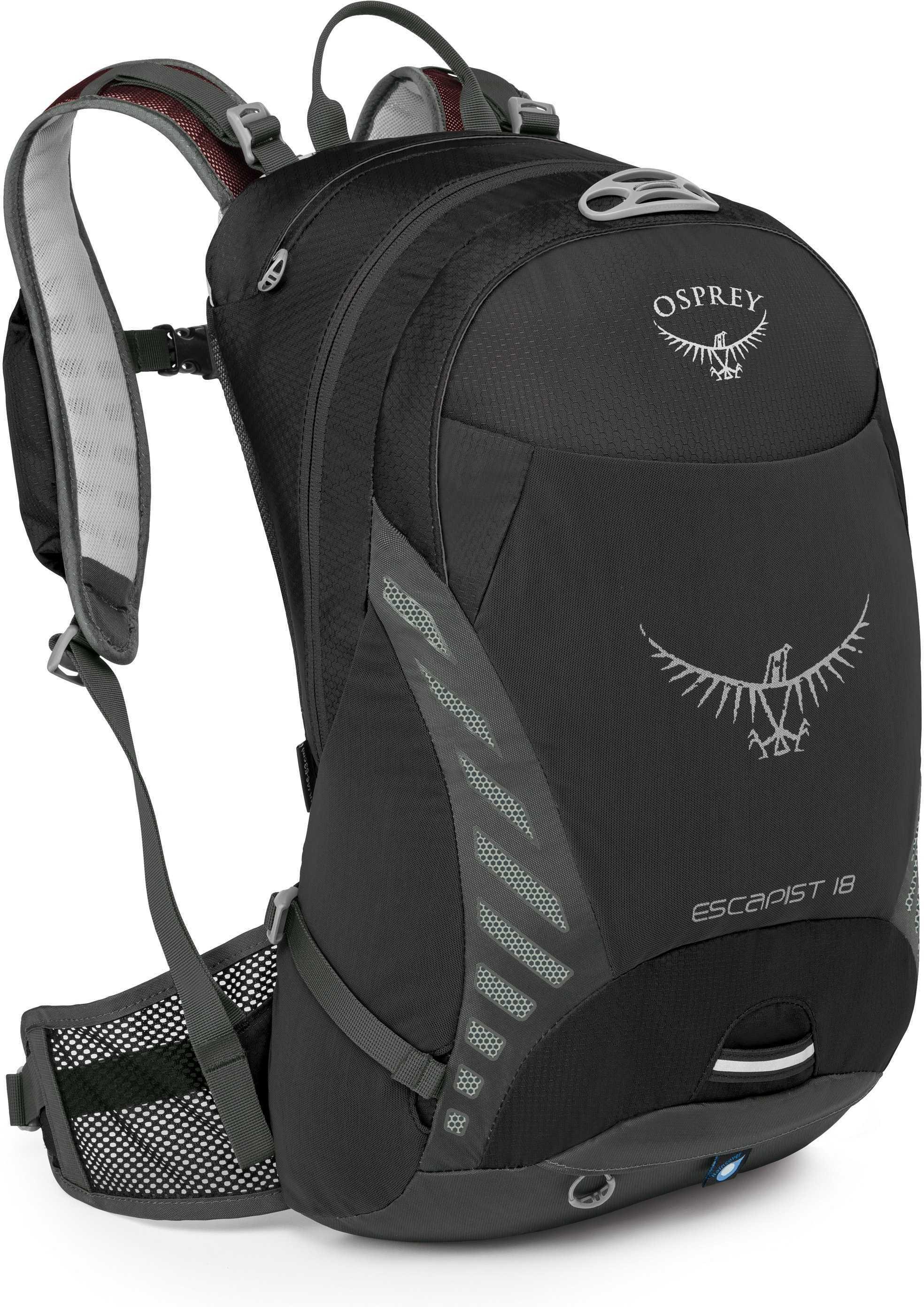 Ryggsäck Osprey Escapist 18 l small/medium svart