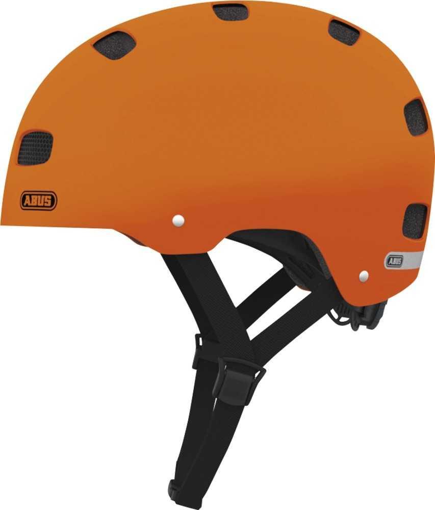 Hjälm Abus Scraper Kid 2.0 matt orange 48-55 cm d7dabc9bf046b