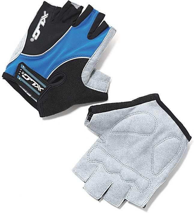 Handskar XLC CG-S04 blå/grå/svart | Gloves