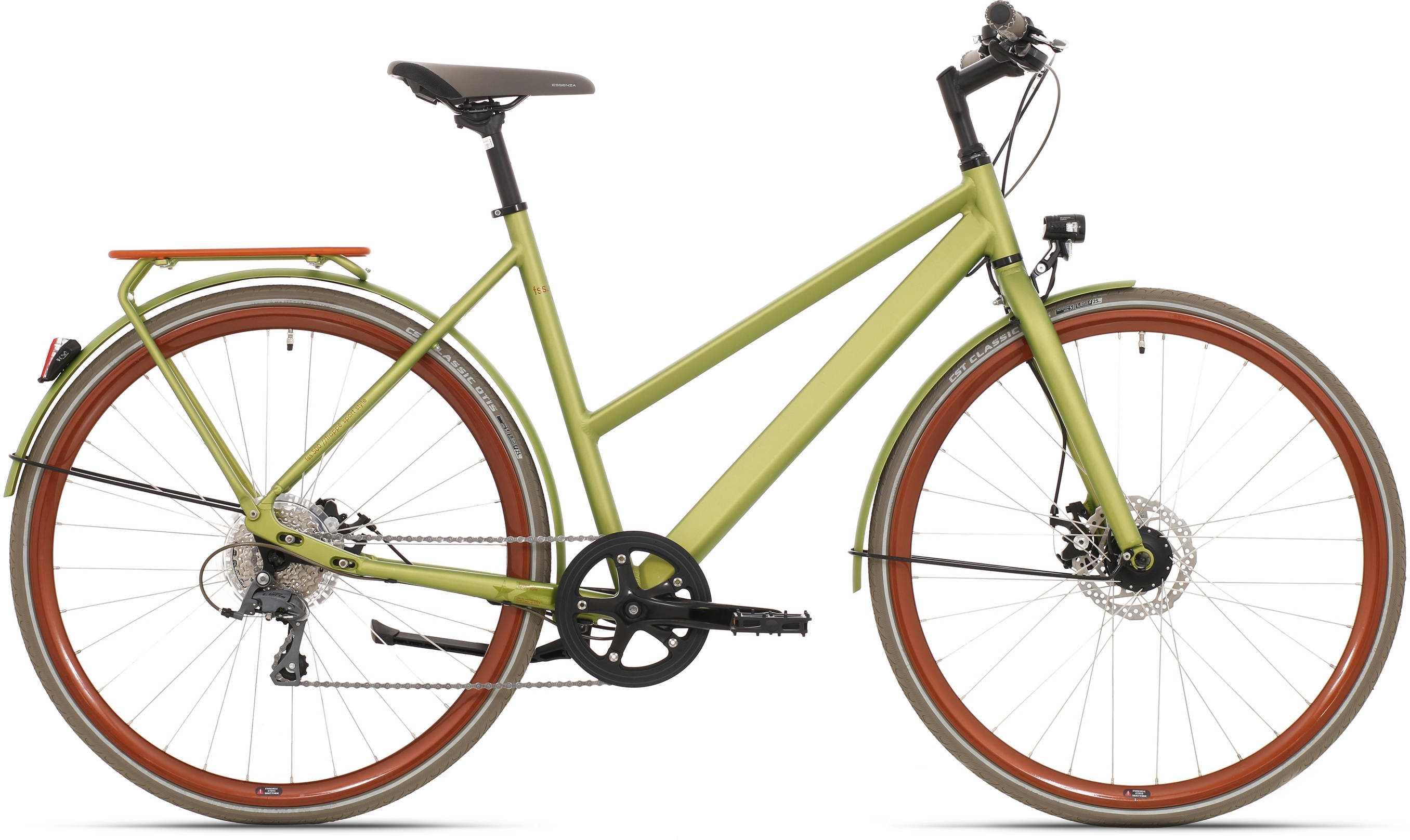 Frappe FSS 500 lady matt grön 57 cm