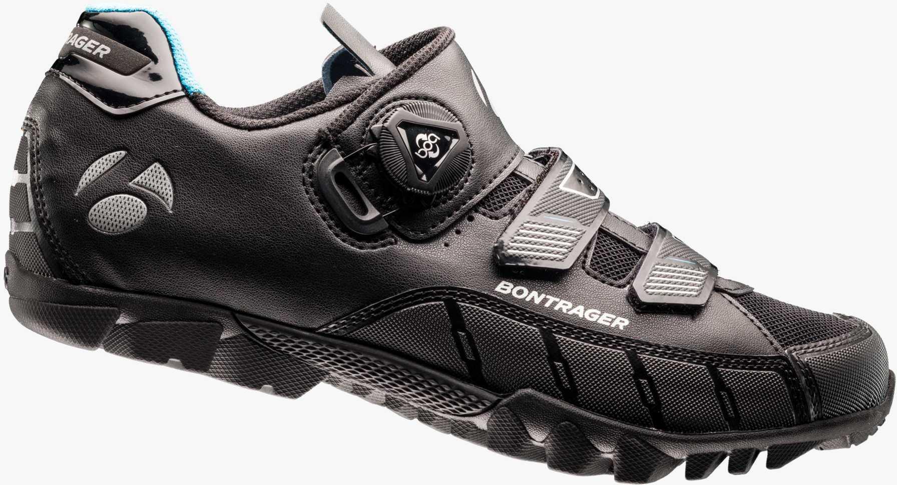 SKO BONTRAGER IGNEO dame SORT | Shoes and overlays