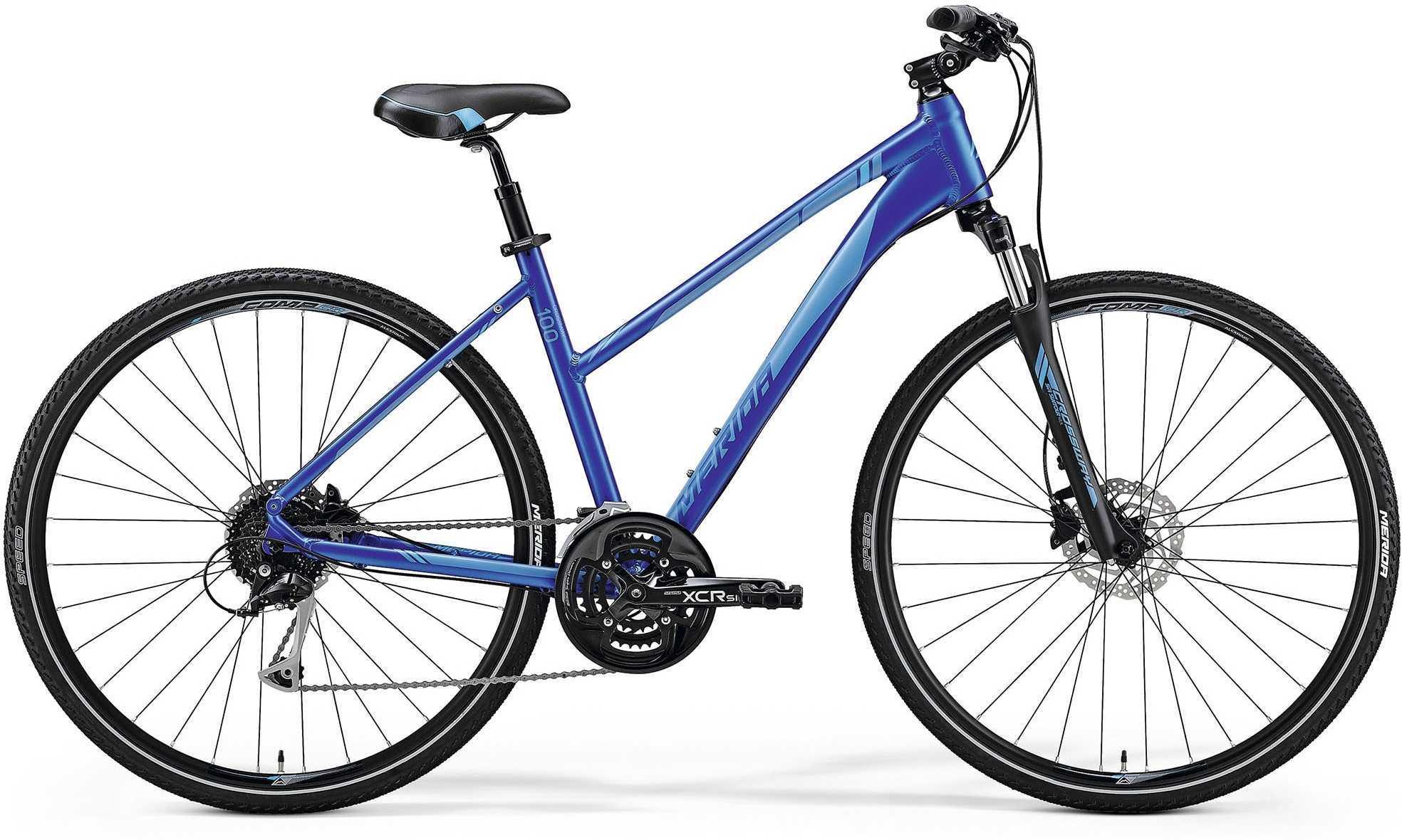 Merida Crossway 100 lady blå 47 cm