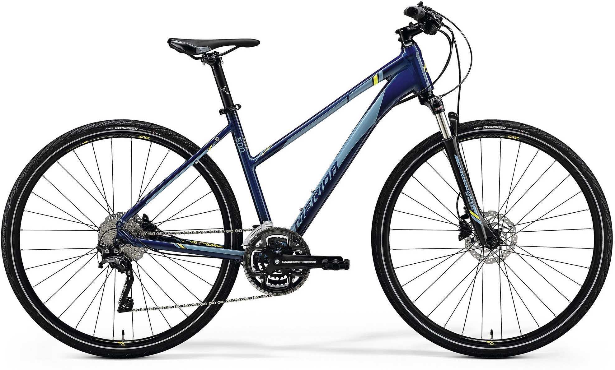 Merida Crossway 500 lady blå 55 cm