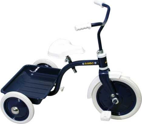 Trehjuling Crescent Bambo Blå