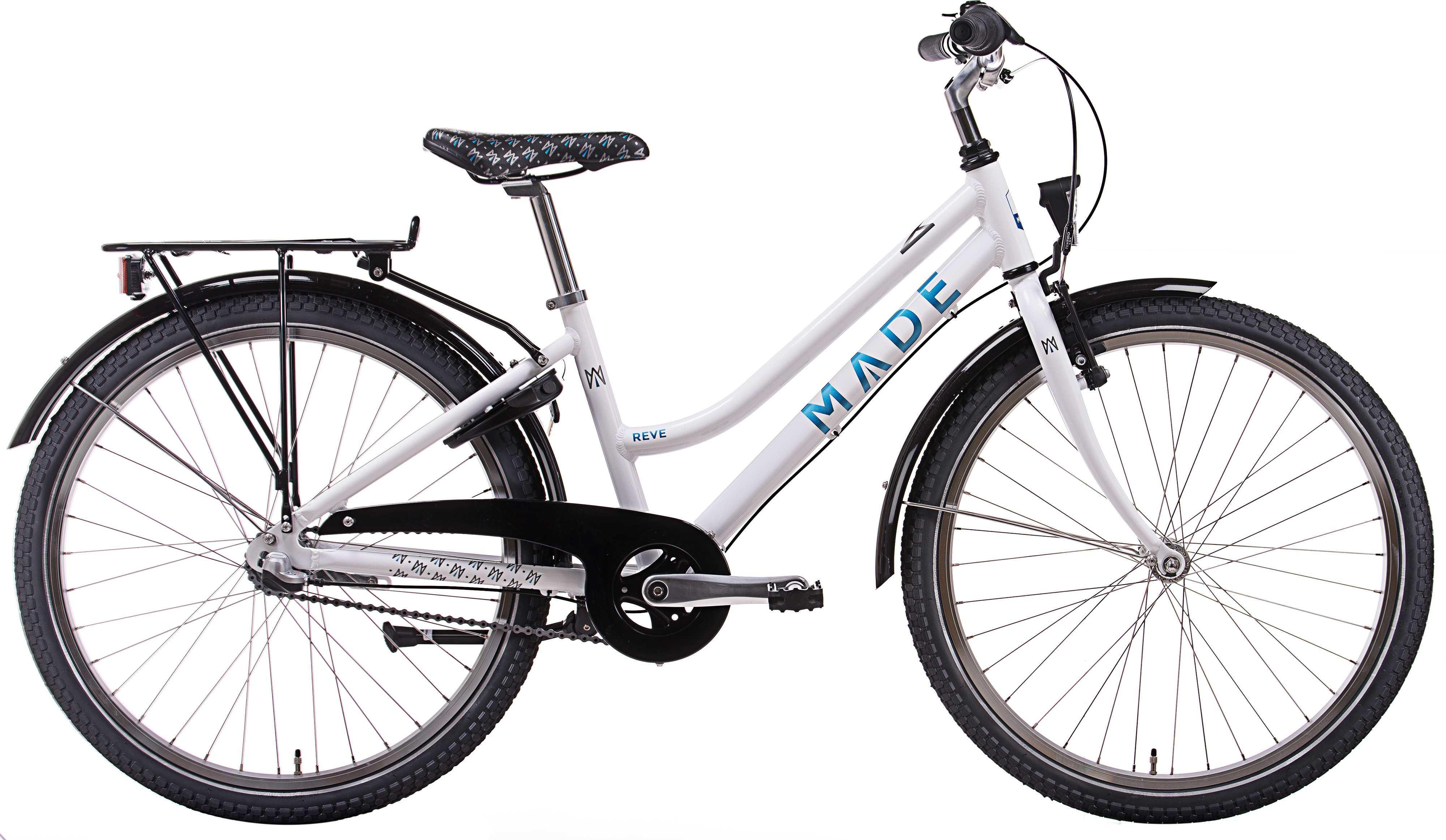 """MADE Reve 24"""" 3-växlad vit/Ljusblå"""