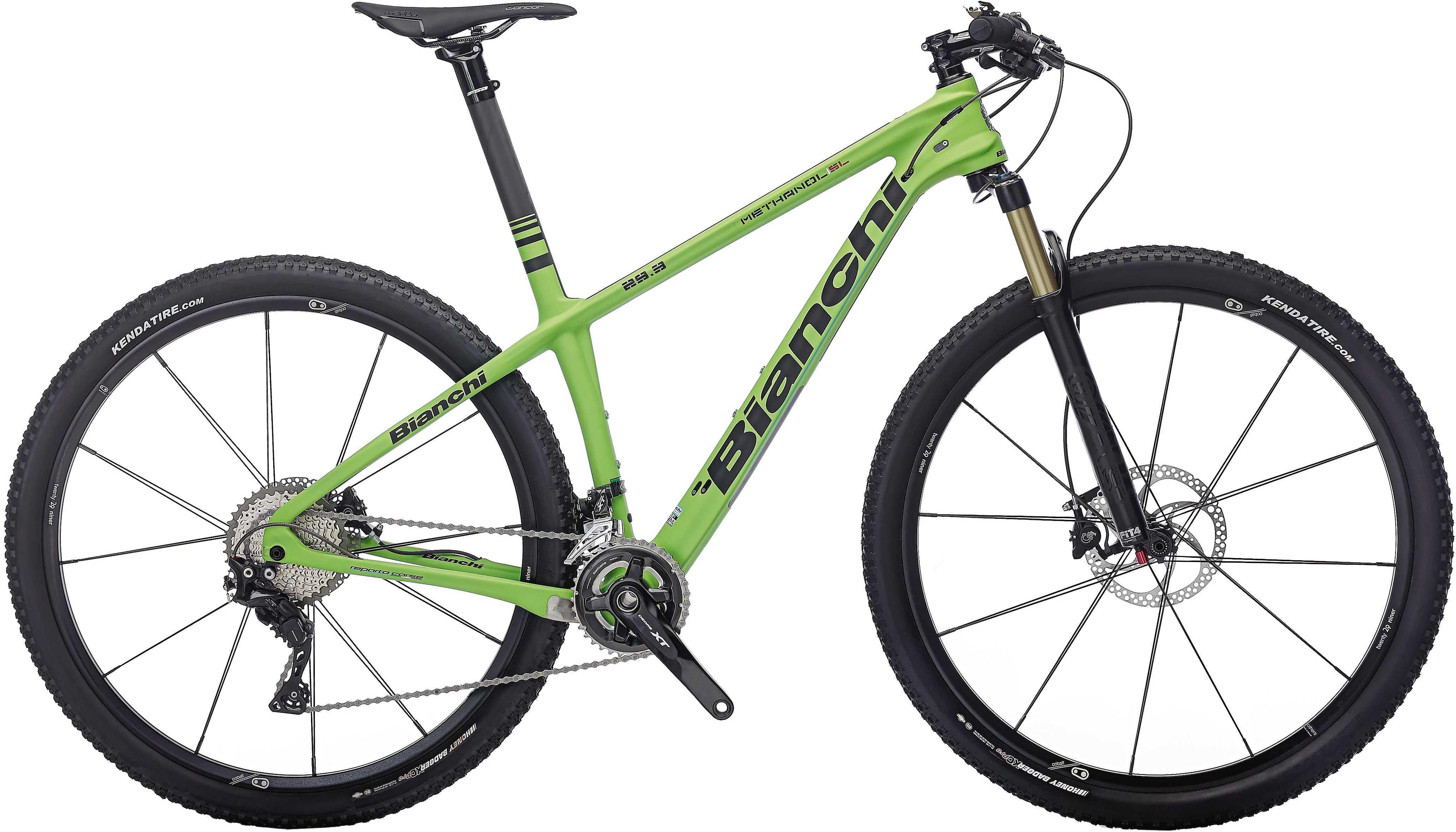 Bianchi Methanol 29.3 SL grön/svart 43 cm