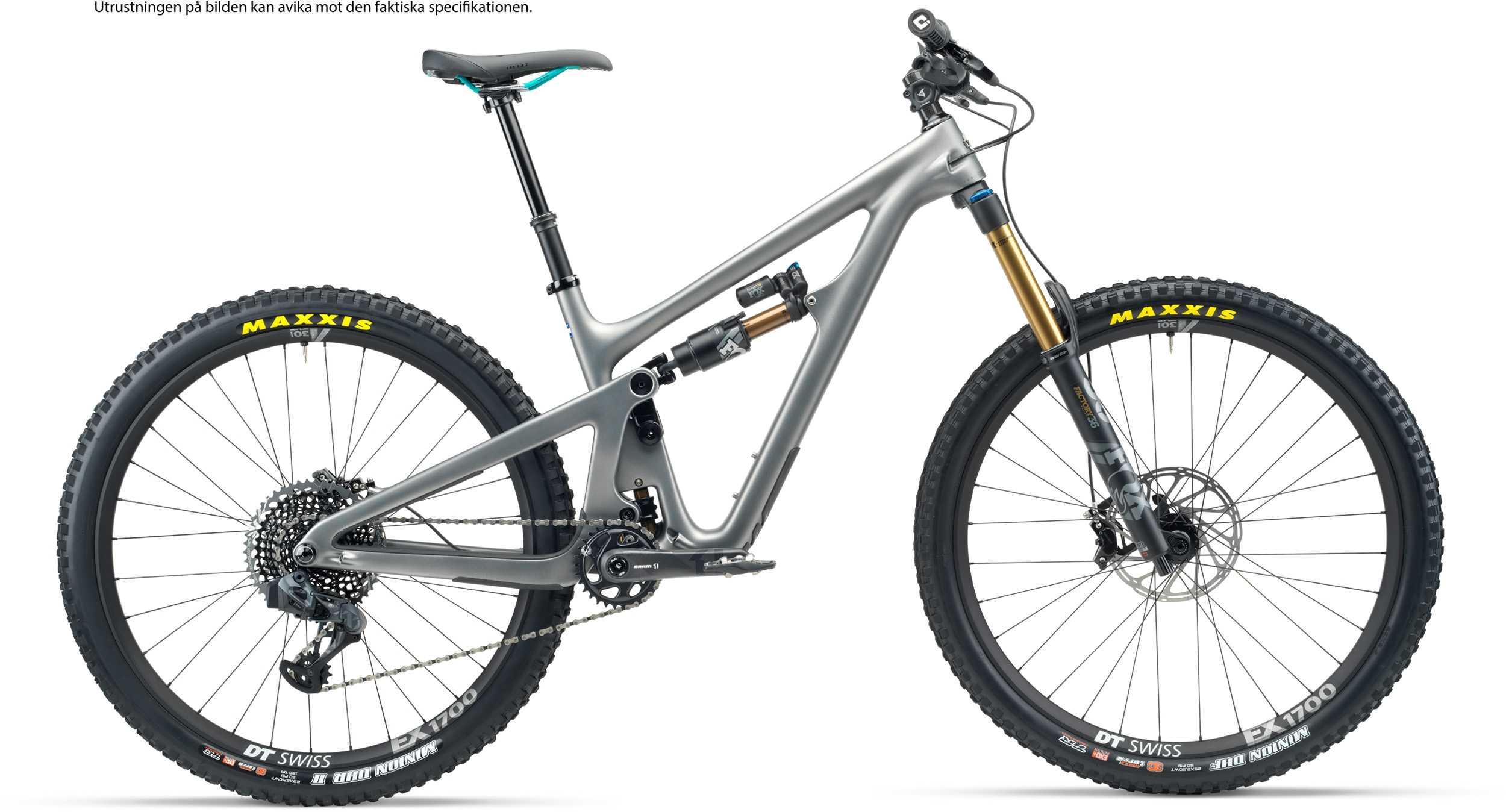 Yeti SB150 T1 + XMC hjul grå | MTB