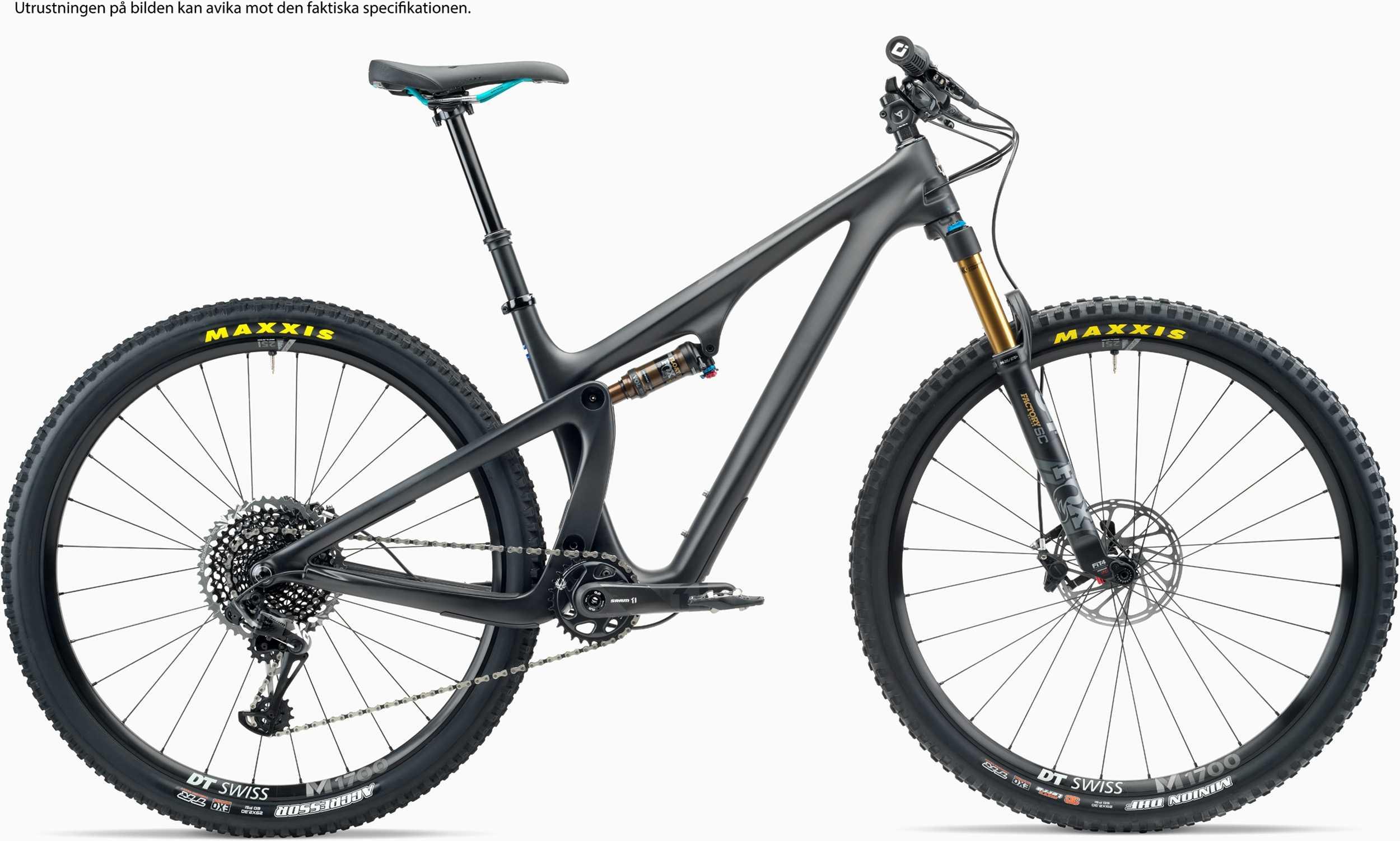 Yeti SB100 C1 svart x-large