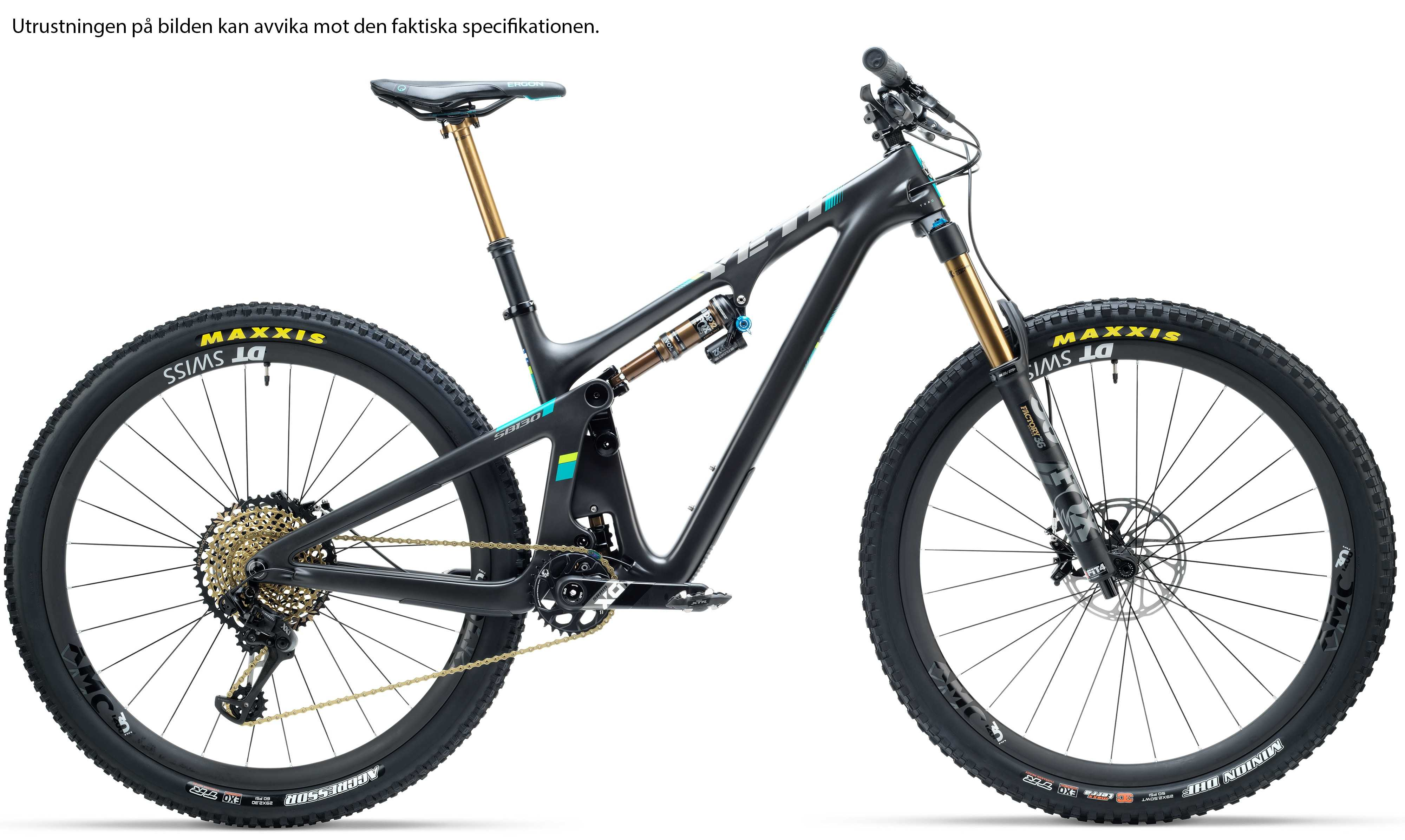 Yeti SB130 Carbon GX svart medium