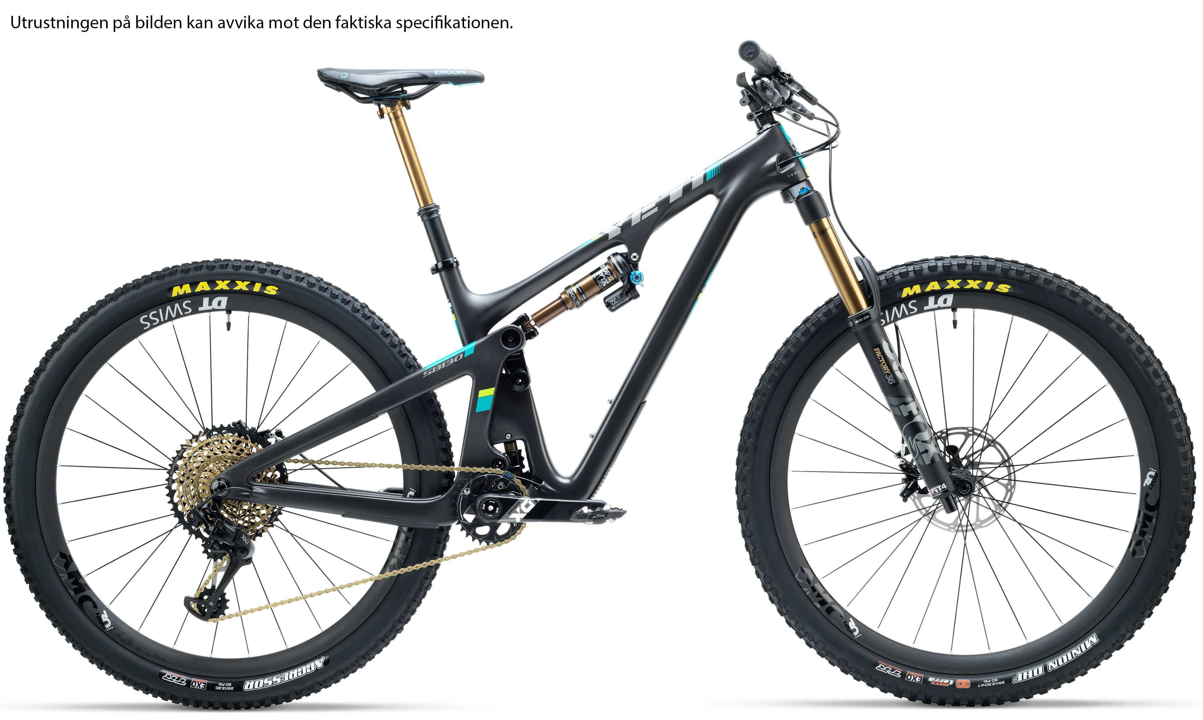 Yeti SB130 Turq LR X01 svart medium