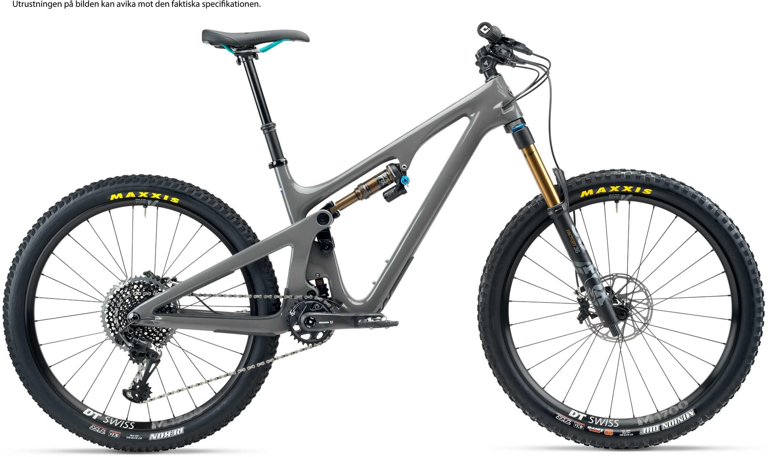 Yeti SB140 T2 + XMC hjul grå large