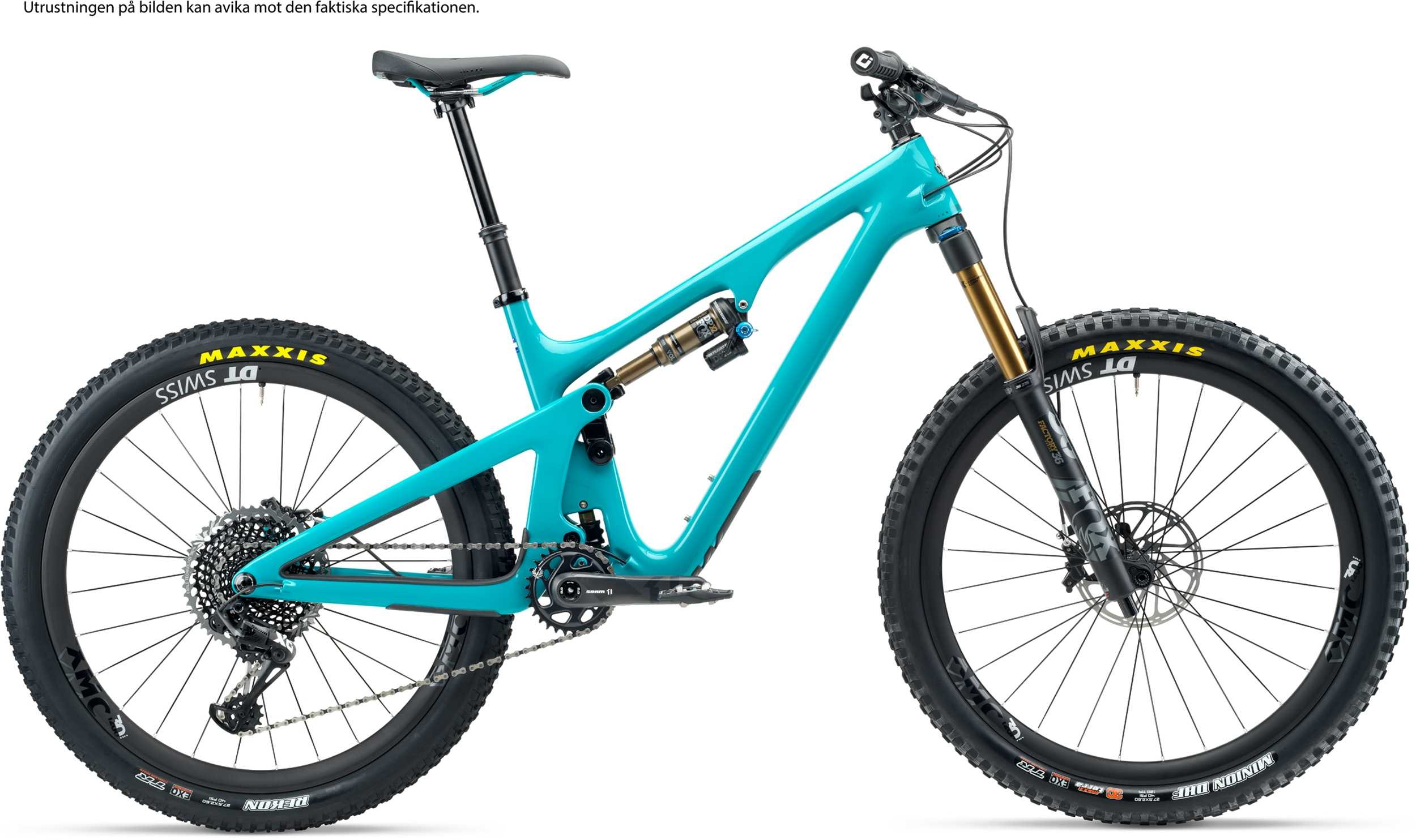 Yeti SB140 T2 AXS turkos medium