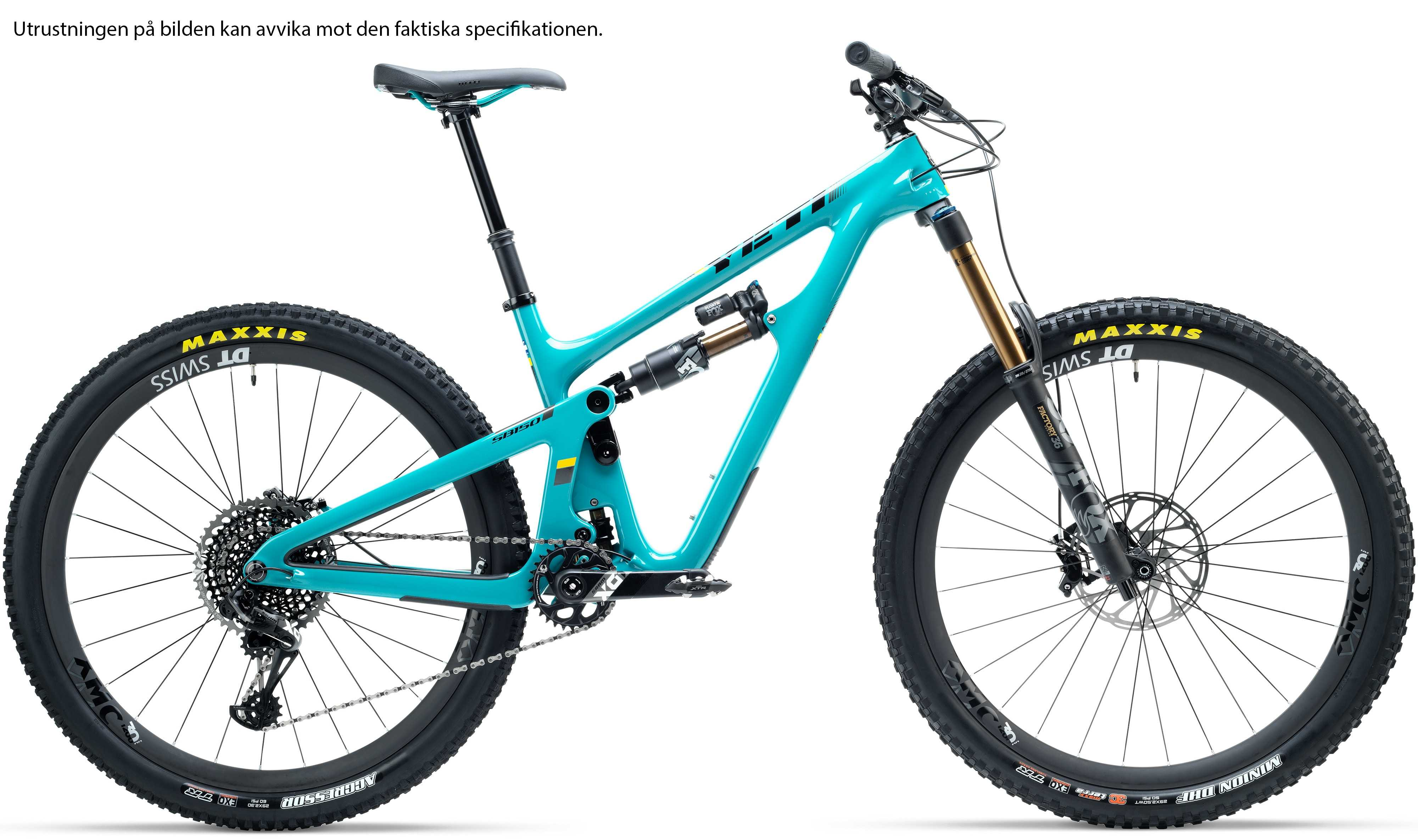 Yeti SB150 Carbon GX Comp turkos x-large