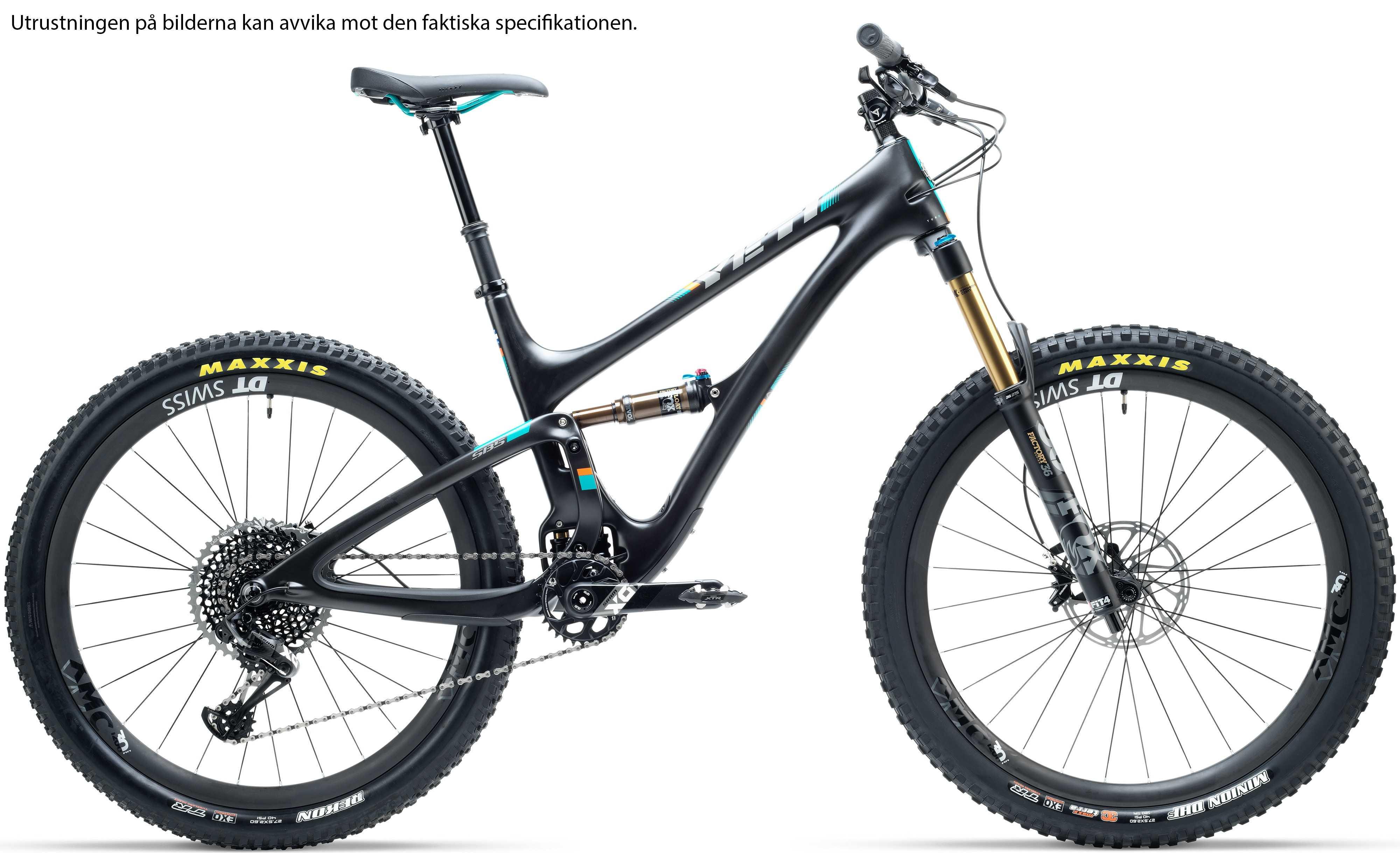 Yeti SB5 Carbon LR GX Comp svart medium