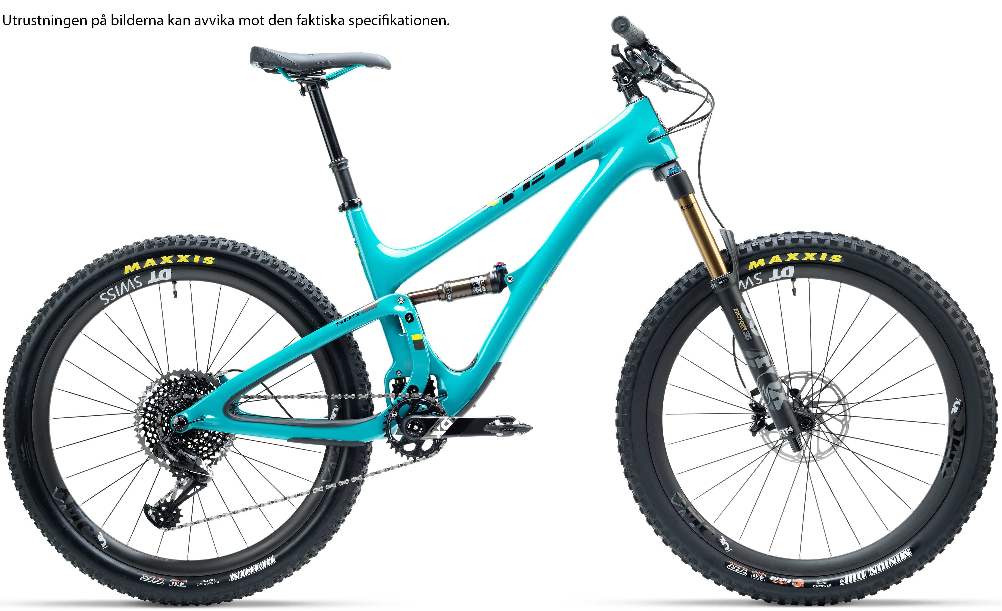 Yeti SB5 Carbon GX Comp turkos large