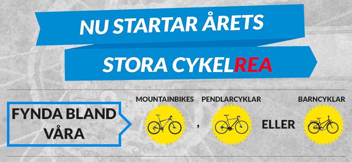 Nu startar årets stora cykelrea!