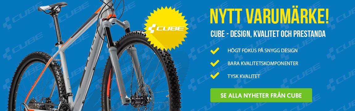 Cykelkraft introducerar Cube!